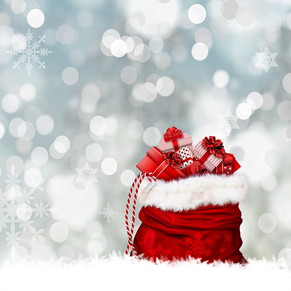 christmas-gifts-in-sack-Stock-Photo