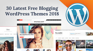 30-Best-Free-Blog-WordPress-Themes-2018-For-New-Bloggers