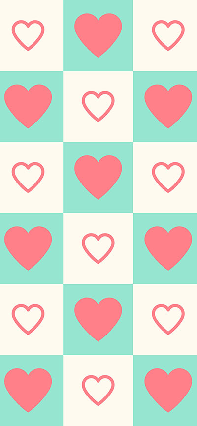 Cute-Heart-iPhone-X-background