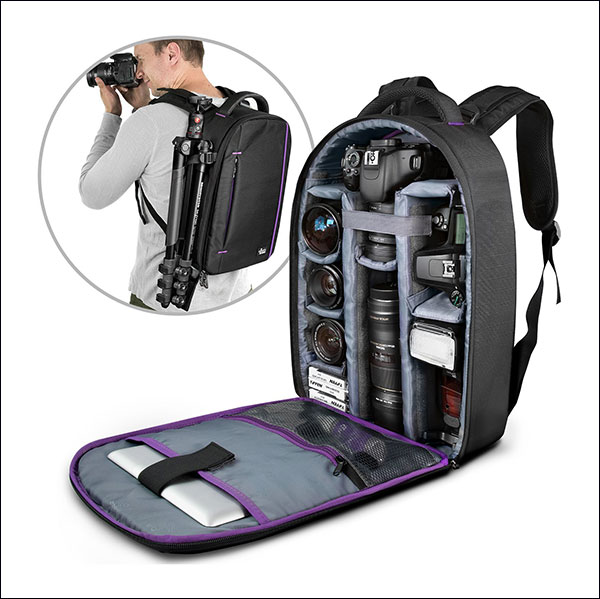 DSLR-Camera-and-Mirrorless-Backpack-Bag-by-Altura-Photo-for-Camera-and-Lens