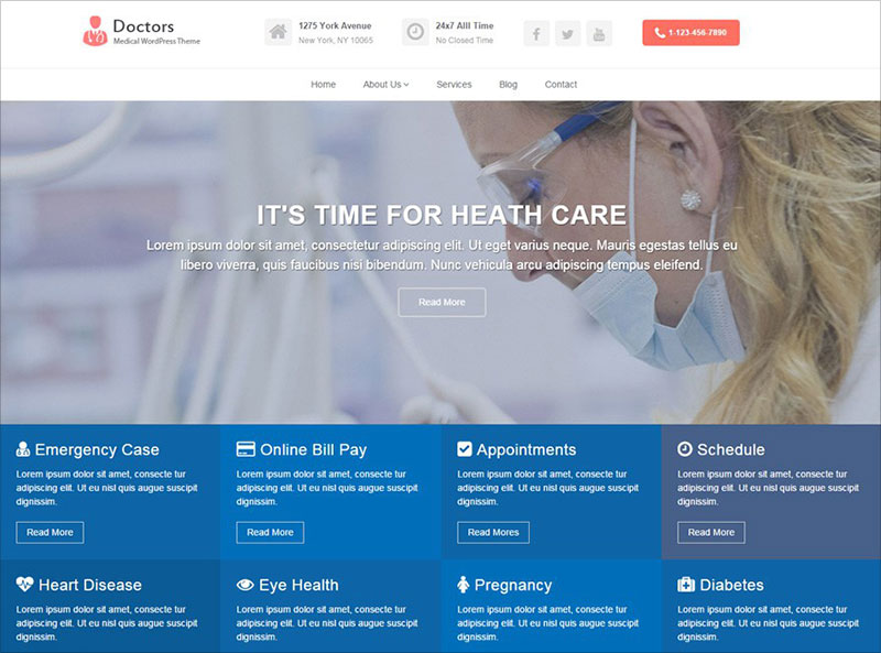 Doctors-Free-Medical-WordPress-Theme-2018