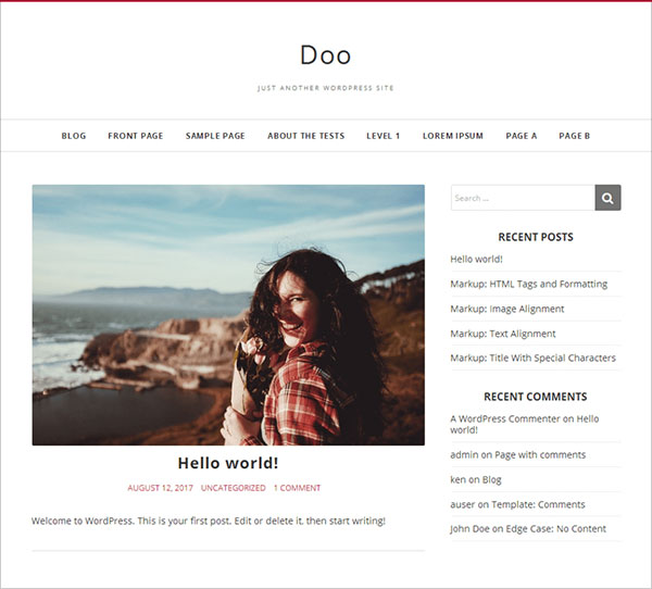 Doo-beautiful-two-columns-WordPress-theme-2018