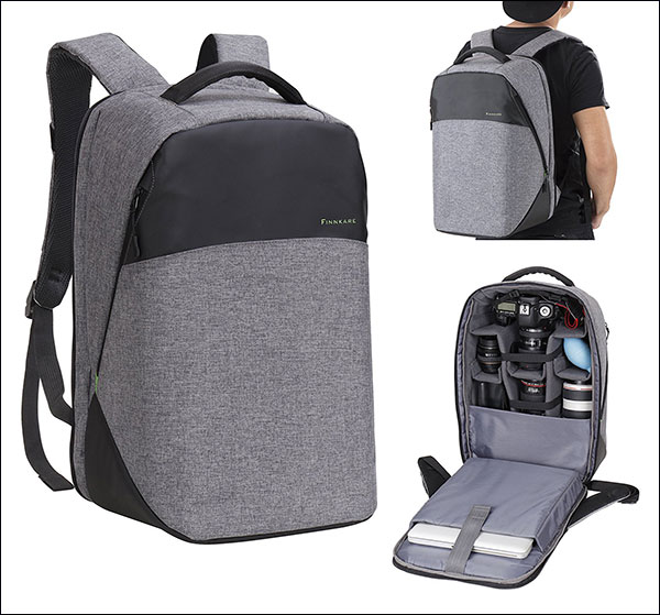 Finnkare-New-Polyester-Outdoor-Large-DSLR-Backpack-for-Hiking