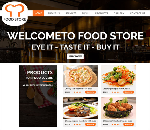 Free-Food-Restaurant-WordPress-Theme-mobile-friendly
