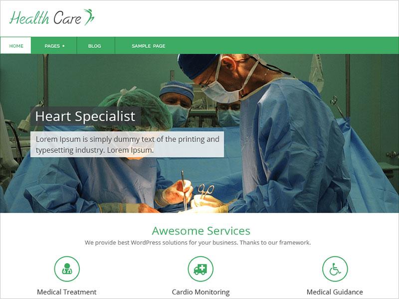Healthcare-Wordpress-theme-2018