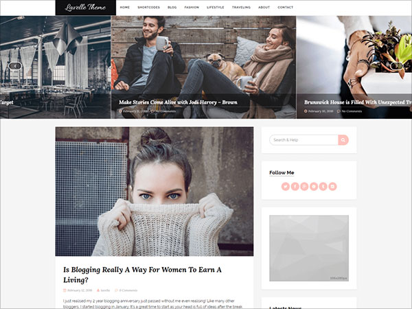 Lavelle-feminine-looking-WordPress-theme-for-glamorous-beauty,-fashion,-lifestyle-or-a-stylish-travel-site