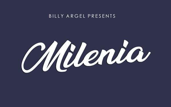 Millenia-Free-Script-Font-for-Elegant-Artworks