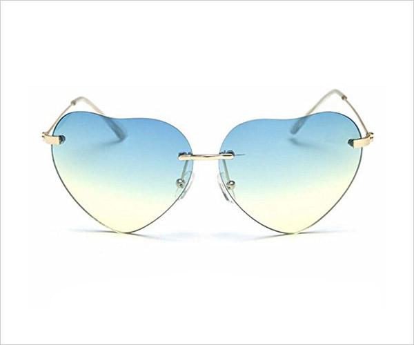 My-Monkey-2017-Light-Fashion-Heart-shaped-Wayfarer-Frameless-Sunglasses-for-Women-2