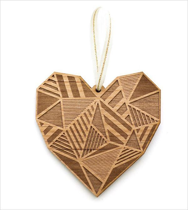 Patchwork-Heart-Laser-Cut-Wood-Ornament