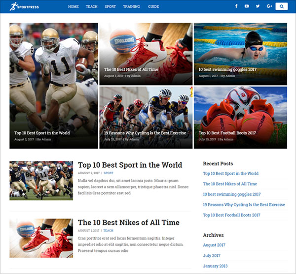 Super-Support-Wordpress-Theme-suitable-for-sports-news