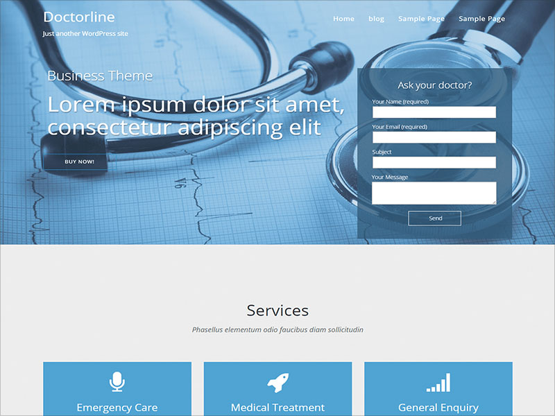 The-doctorsline-One-Page-Responsive-WordPress-Theme-made-for-doctors