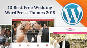 Top 10 Best Free Wedding WordPress Themes of 2018