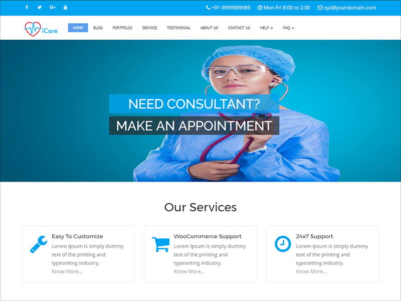 iCare-Lite-free-responsive-medical-multipurpose-WordPress-theme-ideal-for-creating-websites-for-doctors,-medical,-health-care