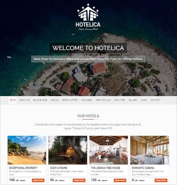 Hotelica-resort-based-responsive-WordPress-theme-design