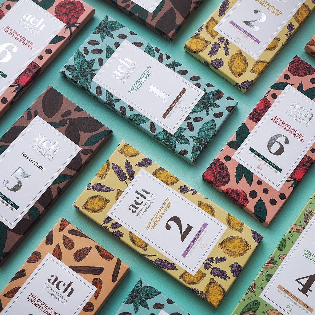 ACH-vegan-chocolate-Packaging-Design