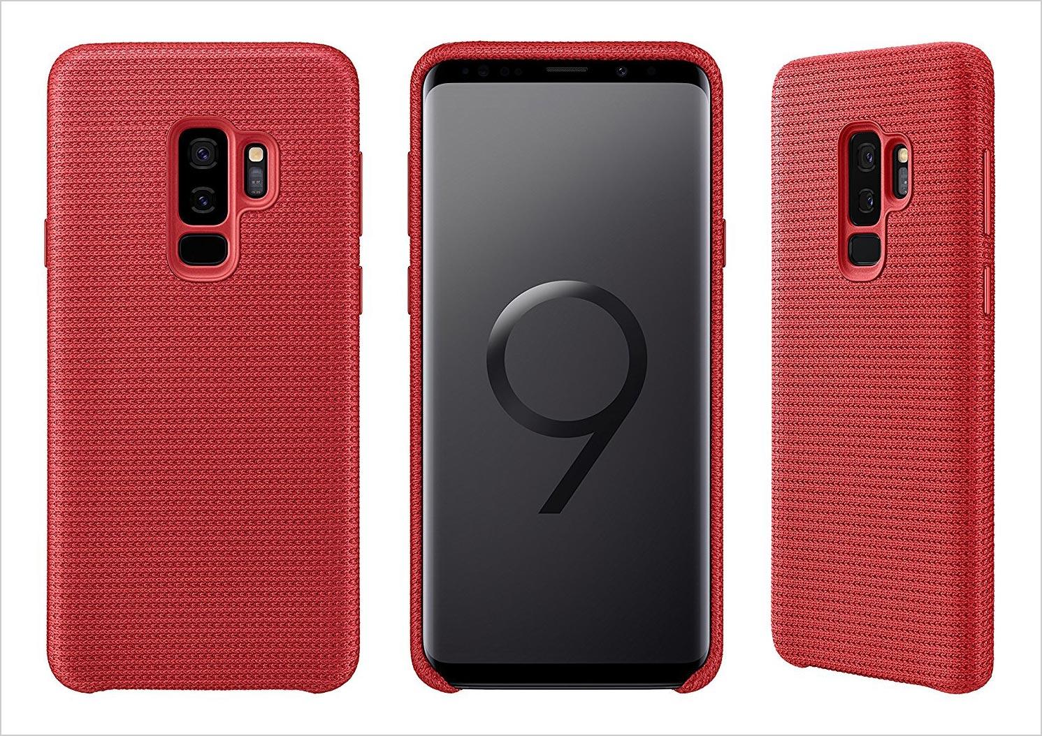 Beautiful-Samsung-Galaxy-S9+-Red-Case