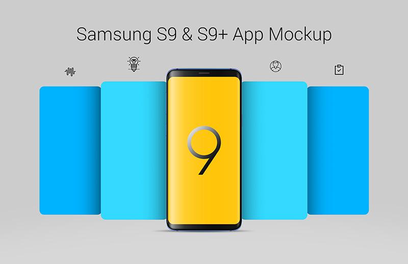 Free-Samsung-Galaxy-S9-App-Screen-Mockup-PSD