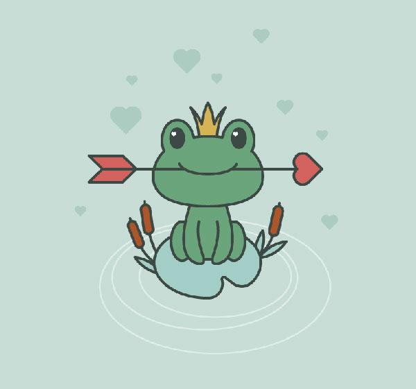 Frog-Princess-Illustration-in-Adobe-Illustrator-Tutorial