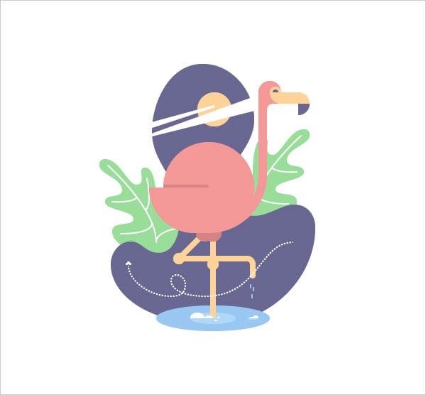 Geometric-Flamingo-Bird-in-Adobe-Illustrator-Tutorial