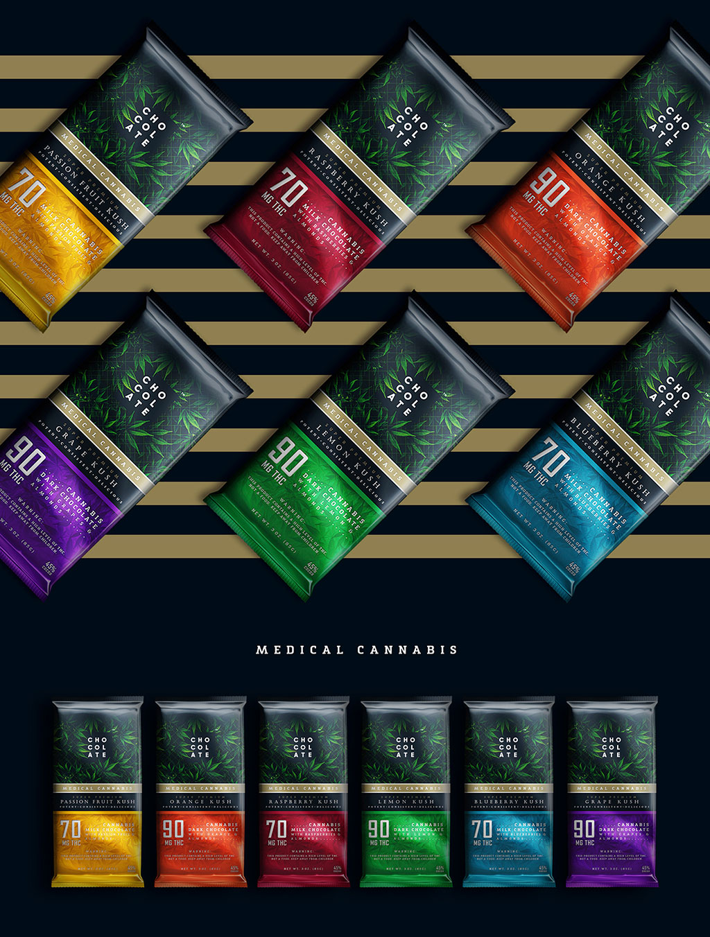 MedicalCannabis-Chocolate-Packaging-Design-Concept
