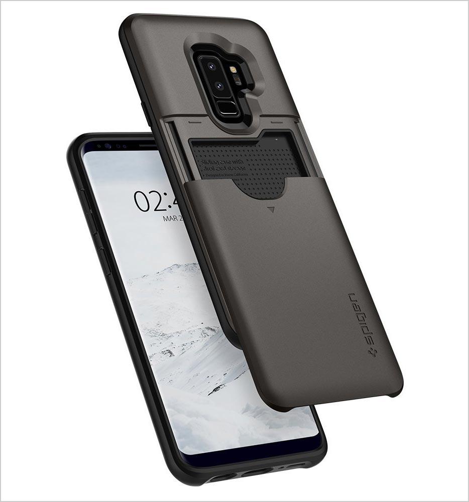Spigen-Slim-Armor-CS-Galaxy-S9-Plus-Case-with-Slim-Dual-Layer-Wallet-Design-2