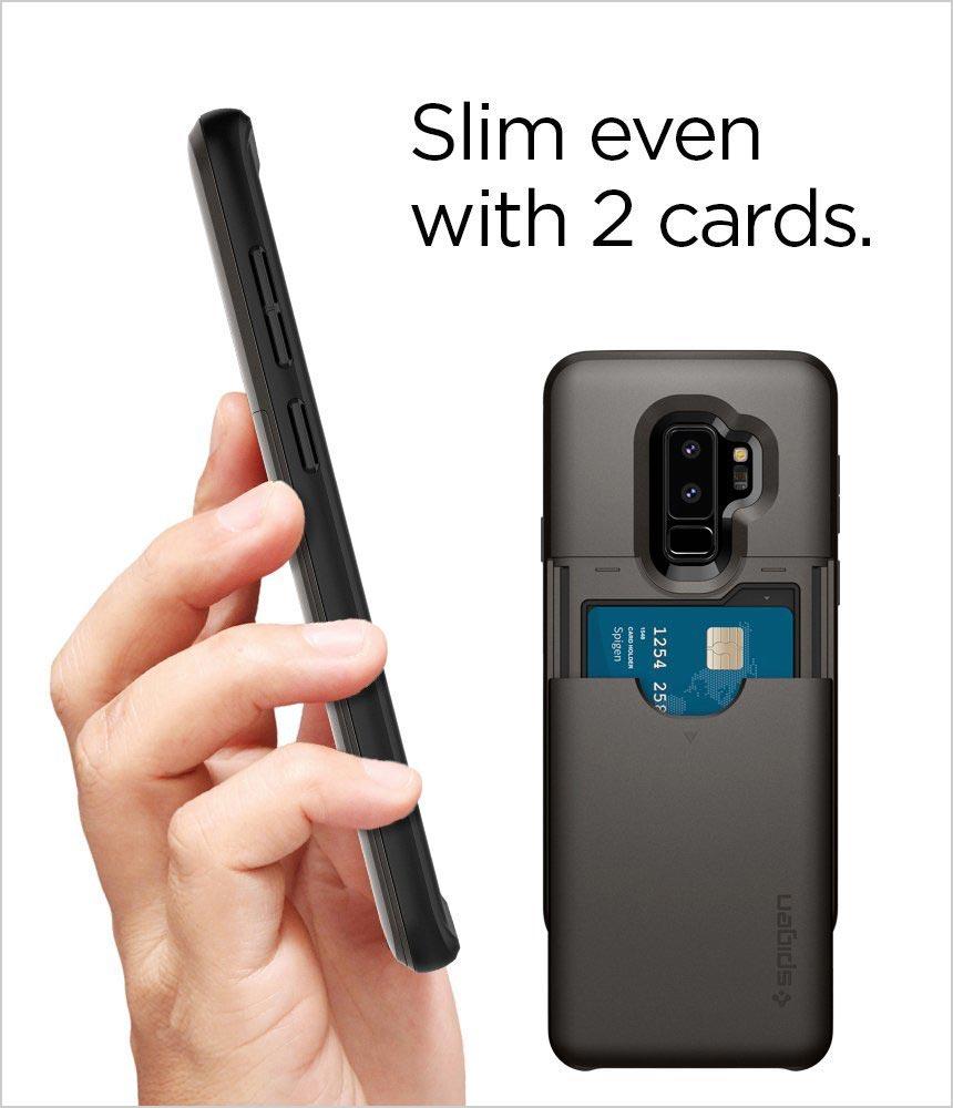 Spigen-Slim-Armor-CS-Galaxy-S9-Plus-Case-with-Slim-Dual-Layer-Wallet-Design