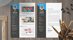 10-Free-Professional-Resume-(CV)-Template-Designs-2018-in-PSD,-Ai-&-Word-Formats