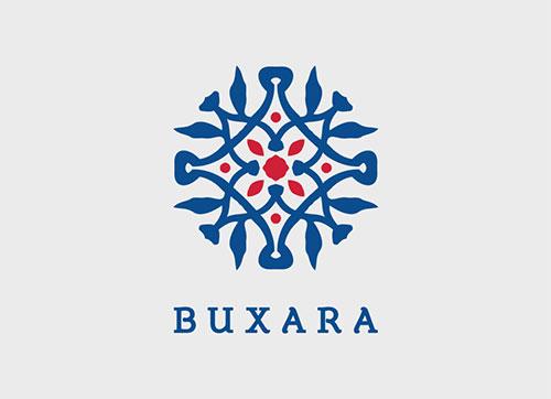 Buxara-branding-Blue-Logo-Design