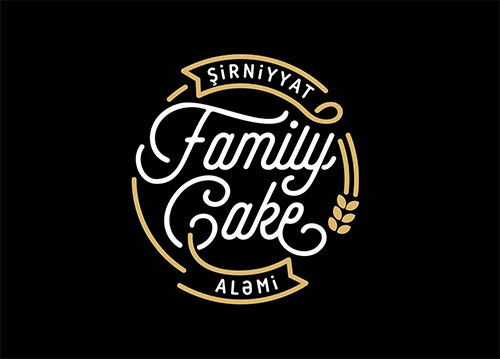 Family-Cake-Logo-Design