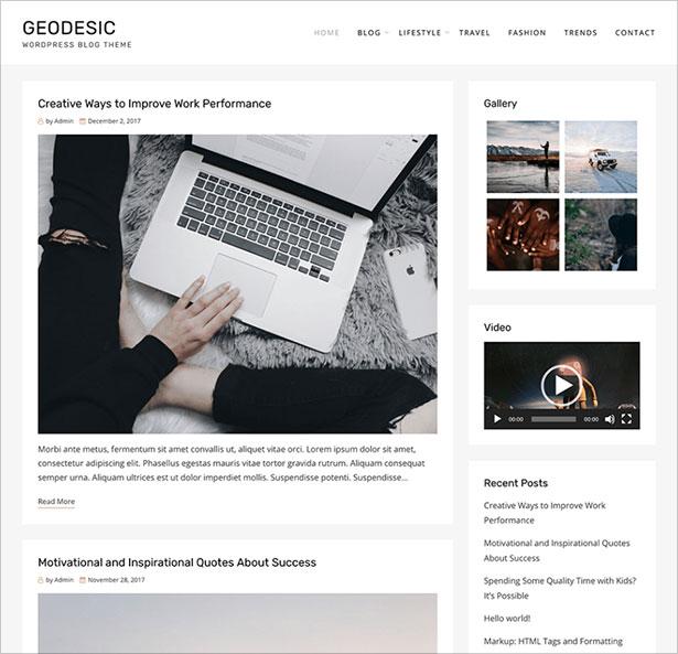 Geodesic-elegant,-creative,-modern-blog-and-magazine-Wordpress-theme-2018