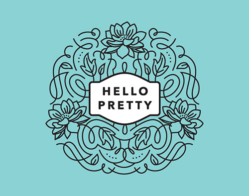 Hello-Pretty-Logo-Design
