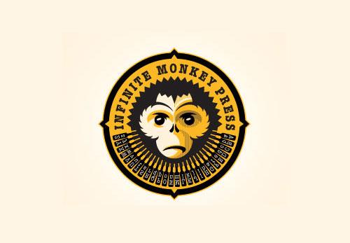 Infinite-Monkey-Press-Logo-Design