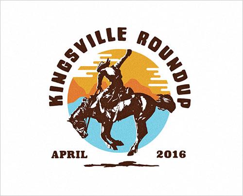 Kingsville-Roundup-v2---for-a-Trucker-hat