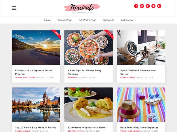 Marinate-WordPress-theme-perfect-to-start-a-food-blog