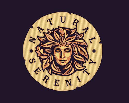 Natural-Serenity-Beautiful-Logo-Design