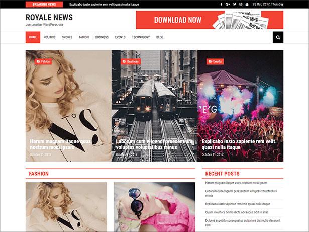 Royale-News-theme-beautifully-designed-WordPress-theme-2018