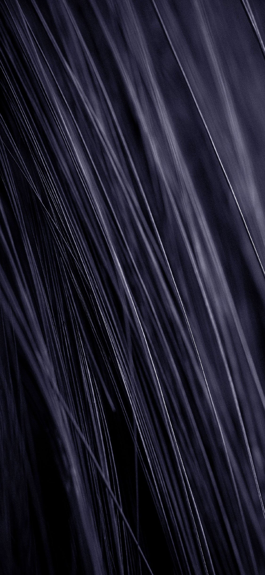 Black Hairs Apple iPhone X Wallpaper 1