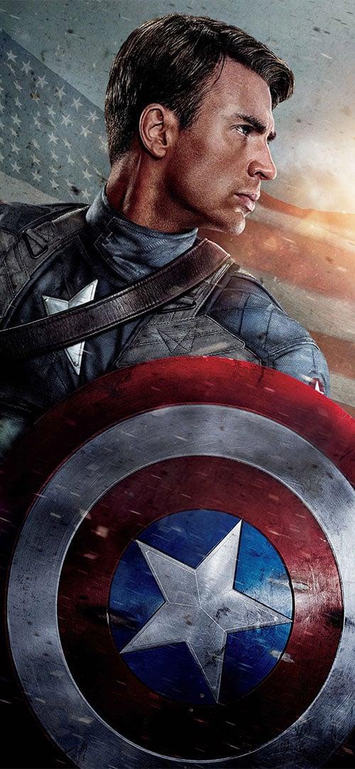 Captain-America-Apple-iPhone-X-Wallpaper