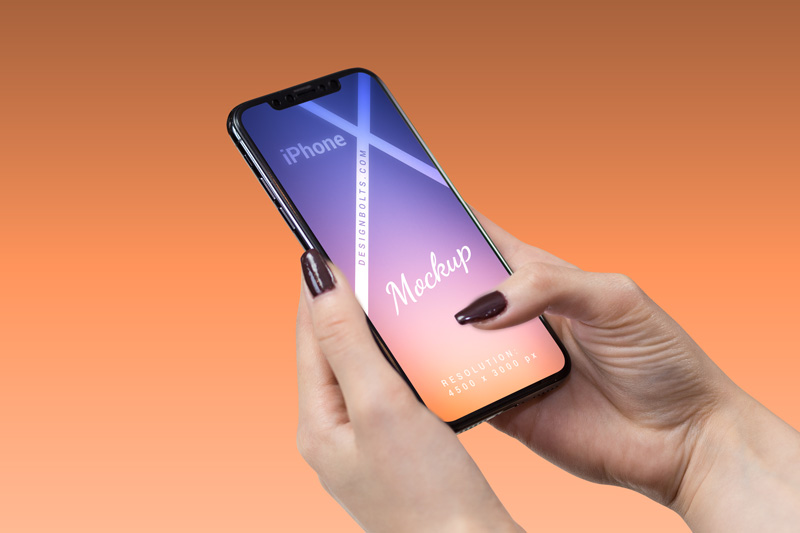 Free-Female-Hand-Holding-iPhone-X-Mockup-PSD-2