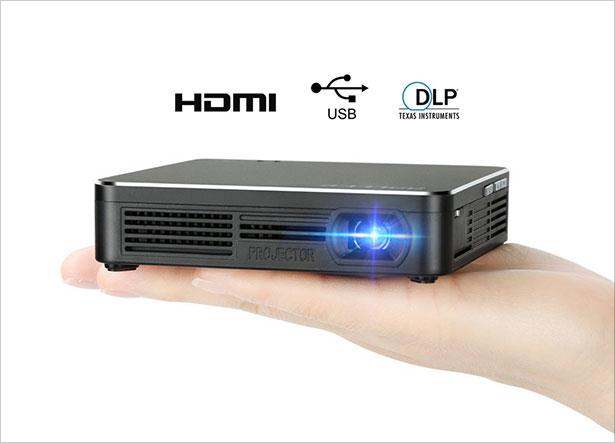 Pocket-Portable-DLP-1080p-Projector-100-Lumens-High-Contrast-Ratio
