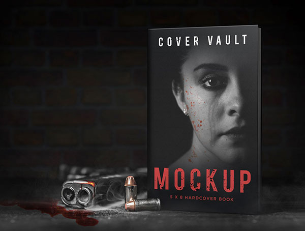 5-x-8-Gun-Crime-Mystery-Book-Mockup