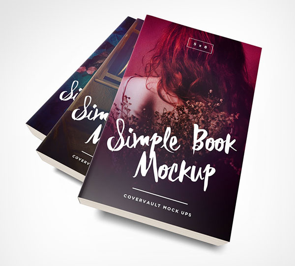 5-x-8-Paperback-Book-Stack-Template
