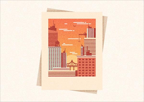City-Illustration-in-Adobe-Illustrator