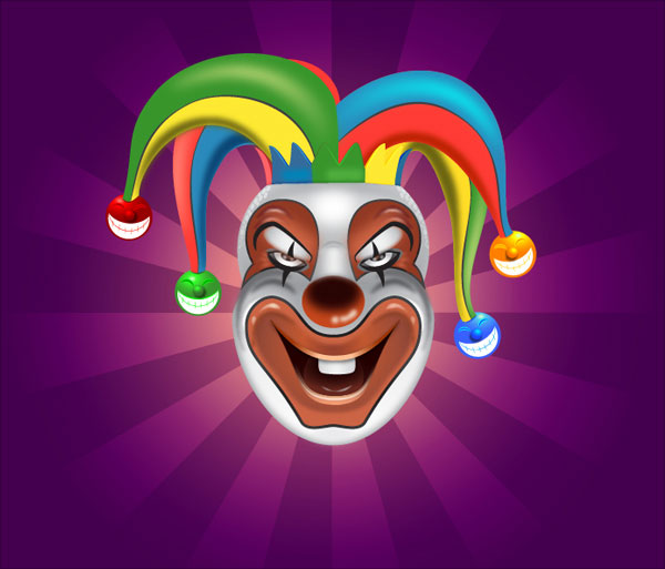 Clown-Face-Illustration-Adobe-Illustrator-CS6-Tutorial