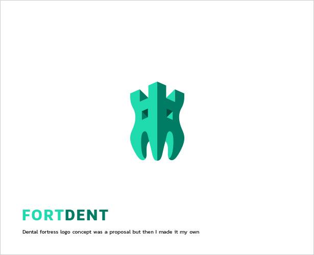 Dental-Fortress-Logo-Design