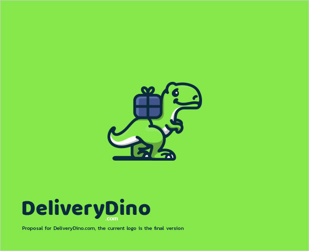 Dinosaur-Logo-Design