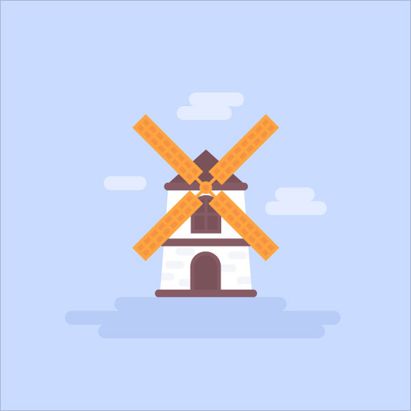 Flat-Wind-Mill-Adobe-Illustrator-Tuts
