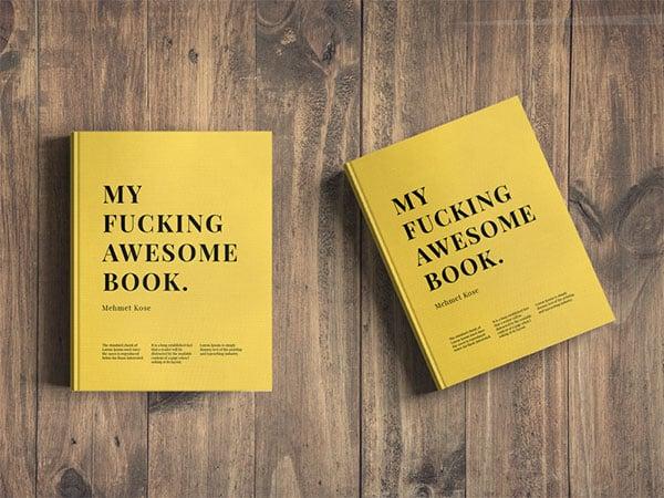 Free-Book-Cover-Mockup