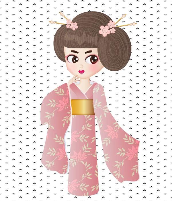 Geisha-Girl-in-Illustrator-Tutorial