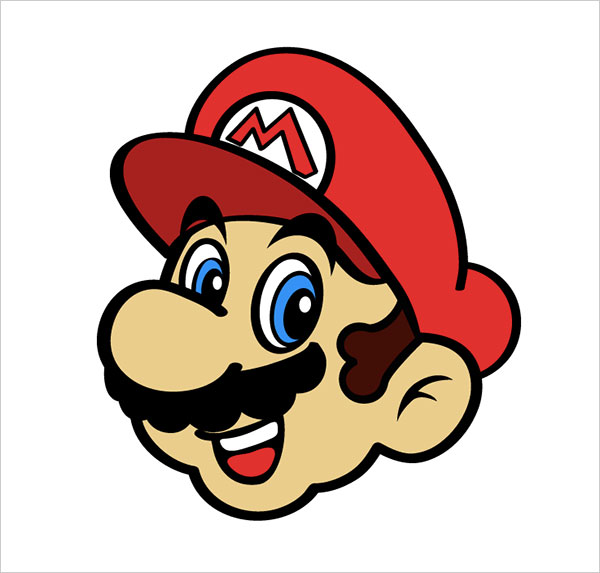 Mario-Illustration-Illustrator-Tutorial